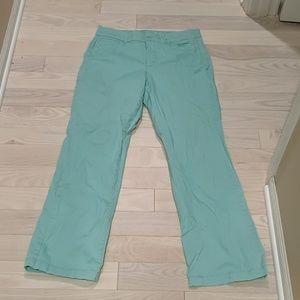 JM collection mint green pants.